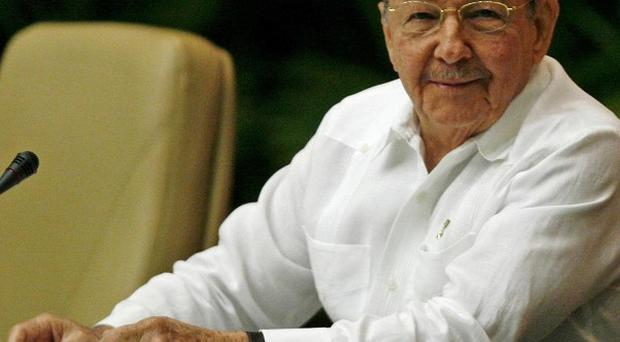 Raul Castro has been named first secretary of Cuba's Communist Party (AP)