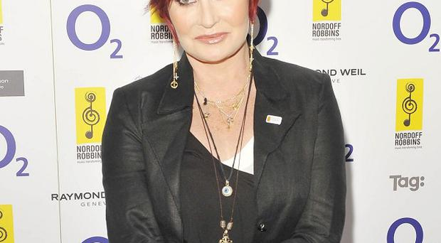 Sharon Osbourne says no-one can force Charlie Sheen to make changes in his life