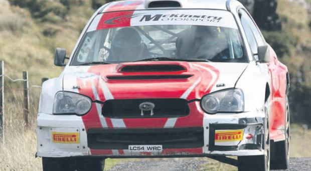 There is never a dull moment when Darren Gass, who will take part in the Circuit of Ireland, is around