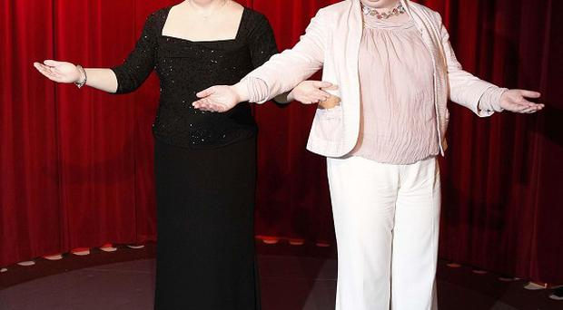 Susan Boyle unveiled a waxwork of herself at the opening of the new Madame Tussauds in Blackpool