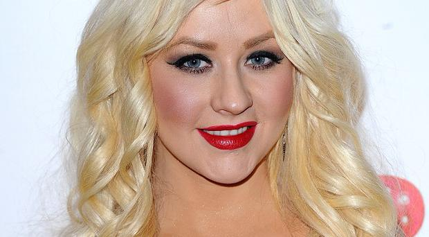 Christina Aguilera performed a raunchy routine on The X Factor final