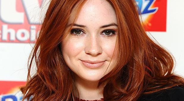 Karen Gillan liked playing at pirates for the latest series of Doctor Who