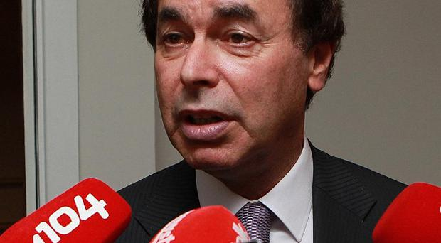 Alan Shatter said a report into the handling of clerical child sex abuse allegations in the Diocese of Cloyne could be published in May