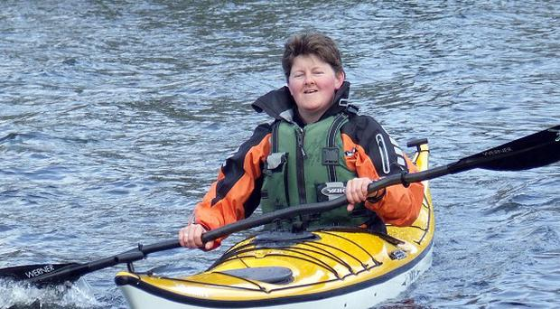 Elaine Alexander hopes to become the first woman from Northern Ireland to complete the 1,000-mile circuit paddle around Ireland