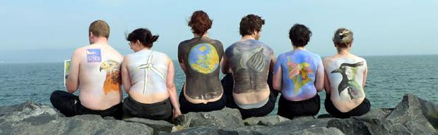 Pink Floyd's Back Catalogue LP cover is recreated to help launch the RSPB's election 'manifesto