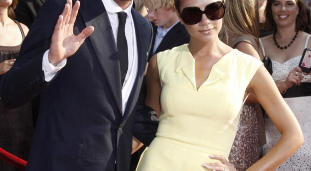The Beckhams will be at next week's Royal wedding