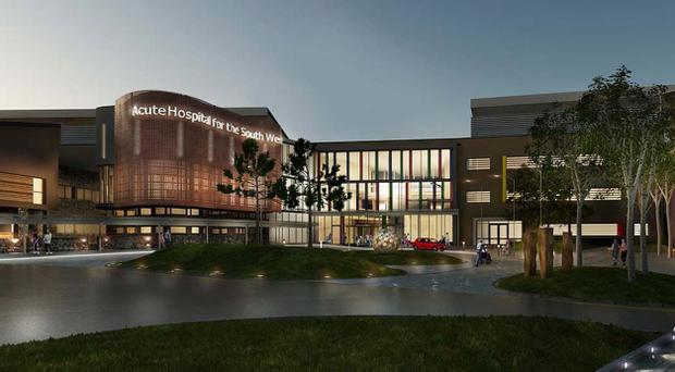 Work will continue at the new South West Hospital site