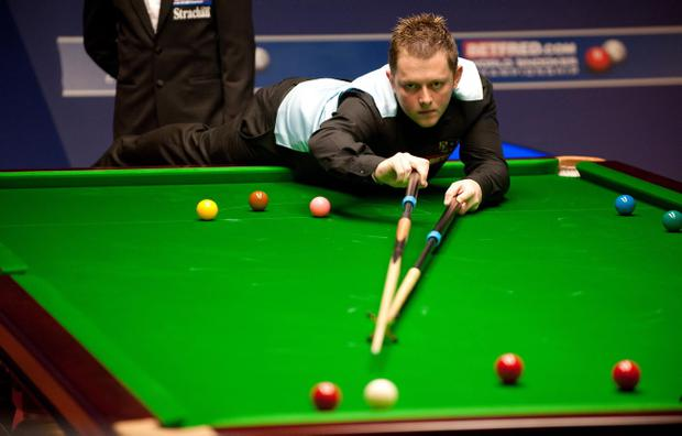Mark Allen could be in for another thrilling finish at the Crucible tonight