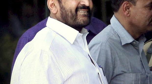 Suresh Kalmadi has been arrested as part of a corruption probe into last year's Commonwealth Games in New Delhi (AP)