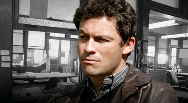 Dominic West as Detective James 'Jimmy' McNulty