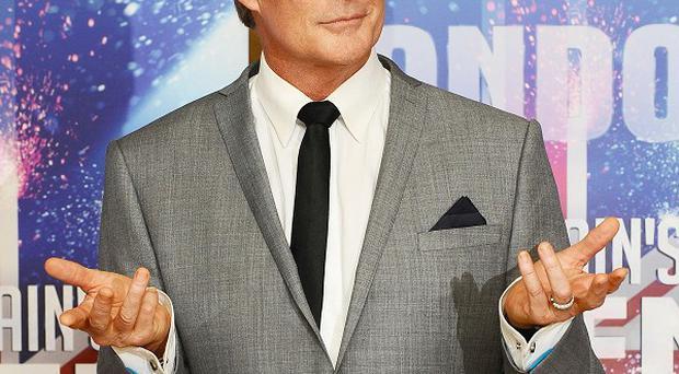 David Hasselhoff struggles with some of the contestants' accents in Britain's Got Talent