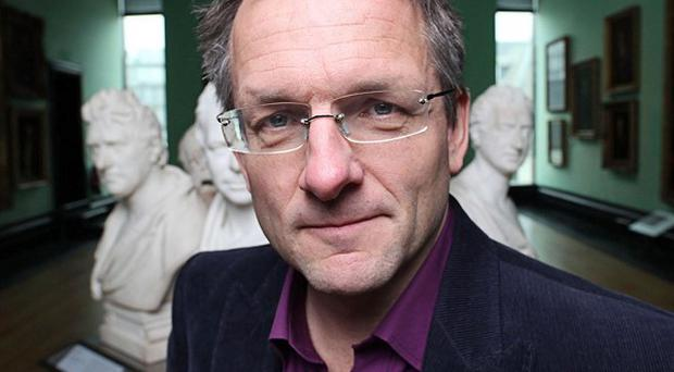 Michael Mosley, presenter of Inside The Human Body