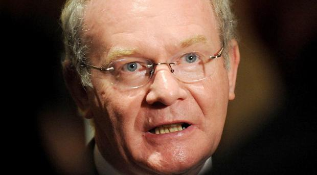 Dissident republicans are living in a fool's paradise if they think they can reunite Ireland by violence, Martin McGuinness says