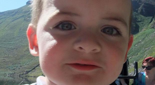 Liam Heffernan, aged 2, is set to become the world's youngest child to undergo pioneering brain surgery