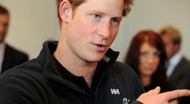 Prince Harry has hinted he would like to be involved in an expedition to Mount Everest (PA)