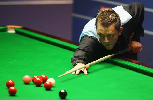 Mark Allen must come from behind today