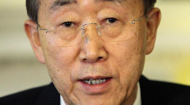 UN chief Ban Ki-moon has appealed to the Sri Lankan government over claims of war crimes