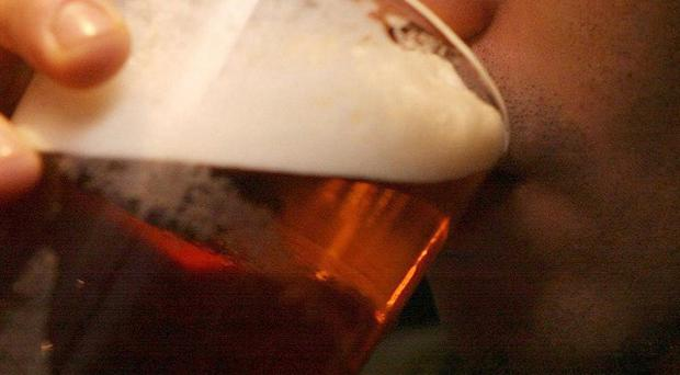 Beer sales fell by 3.8 per cent in the first quarter of 2011 compared with the same period in 2010