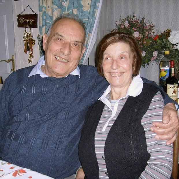 Guiseppe and Caterina Massaro were found at their home in Wolverhampton on Friday