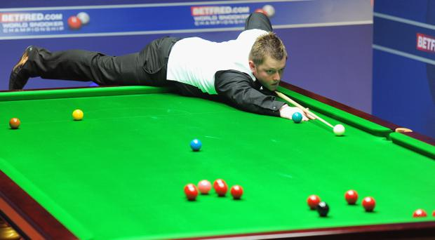 Mark Allen was well beaten by Mark Williams but retains his place in the top 16