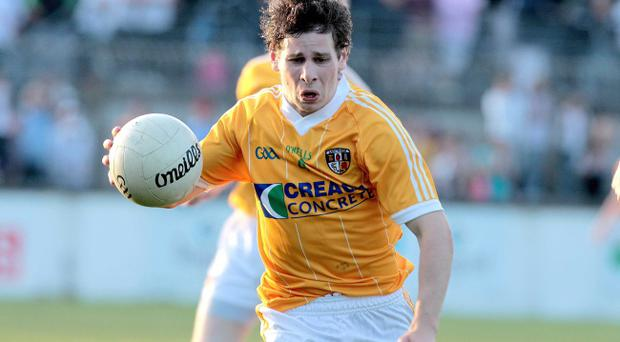 Kevin O'Boyle hopes to recover from a pulled muscle so that he can skipper Antrim for the first time in the Ulster Championship when they meet Donegal next month