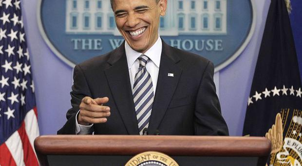 President Barack Obama speaks to reporters about the controversy over his birth certificate (AP)
