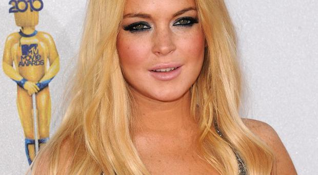 Lindsay Lohan said she wants to get her acting career back on track