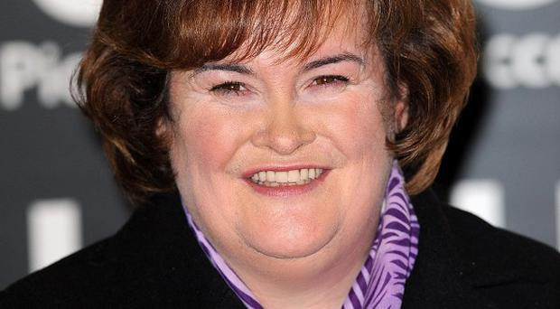 Susan Boyle gave up sweets for Lent in support of the Scottish Catholic International Aid Fund