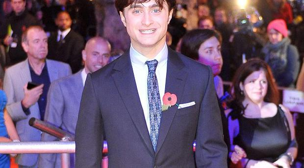 Daniel Radcliffe played Harry Potter in the hit film franchise