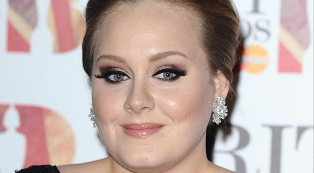 Adele is back on top of the album chart