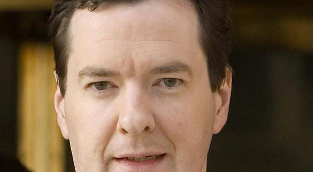 Chancellor George Osborne recorded a message for Radio 5 Live presenter Shelagh Fogarty