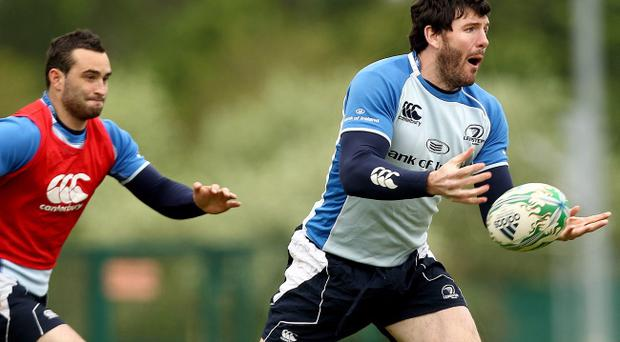 Shane Horgan spoke yesterday of Leinster's burning desire to triumph in the Heineken Cup semi-final against Toulouse tomorrow