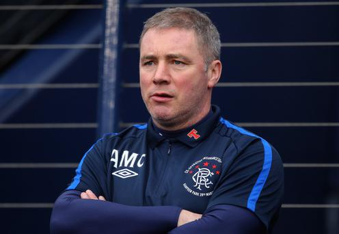 Ally McCoist is anxiously waiting takeover news