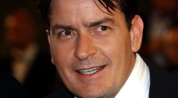 Charlie Sheen is showing his caring side