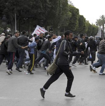Tunisia has been hit with social unrest since the country's long-time ruler Zine El Abidine Ben Ali was ousted (AP)