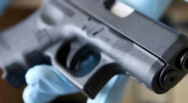 Weapons and ammunition found in a car in Northern Ireland were 'not intended to kill', a court heard