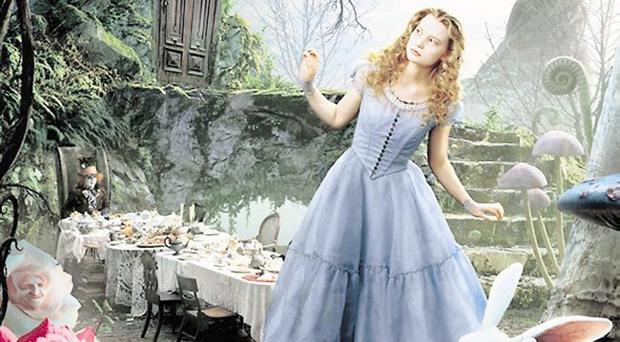 Tim Burton's Alice in Wonderland, was boycotted by cinemas due to its early release on DVD