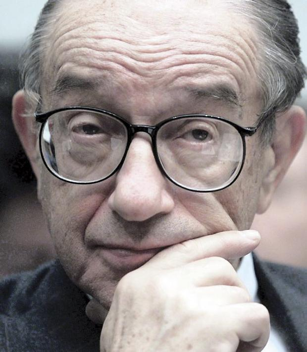 Alan Greenspan, former US Federal Reserve chief