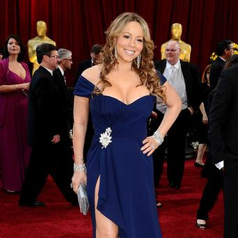 Mariah Carey has been asking fans to guess the name of her babies