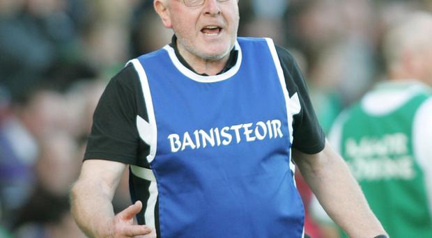 Derry manager John Brennan