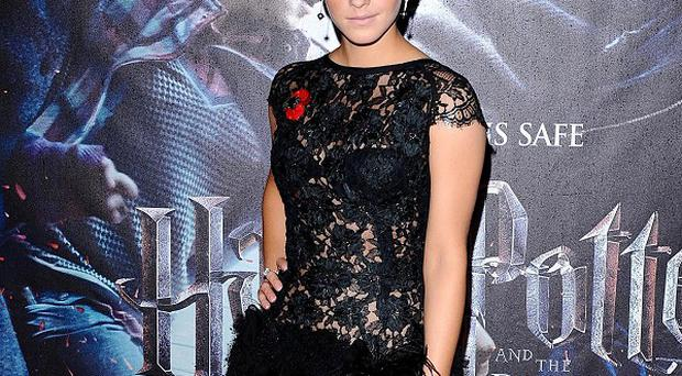 Harry Potter star Emma Watson has topped the Glamour list of the world's best-dressed women