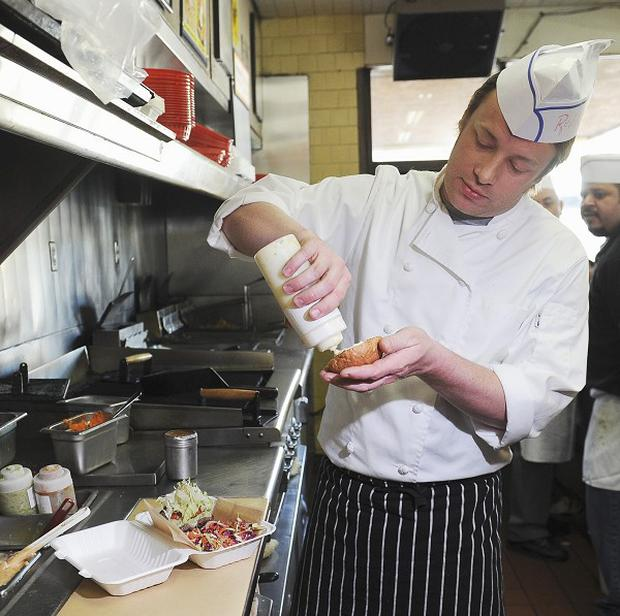 Jamie Oliver had a hard time when he took his Food Revolution to Los Angeles
