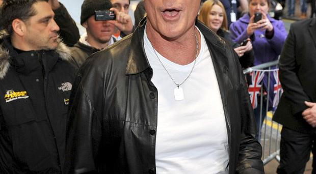 David Hasselhoff likes it when he isn't recognised