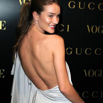 Model turned actress Rosie Huntington-Whiteley has been crowned the world's sexiest woman
