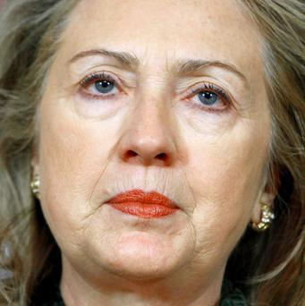 Removing General Gaddafi is the best way to protect Libyan civilians, said US Secretary of State Hillary Clinton (AP)