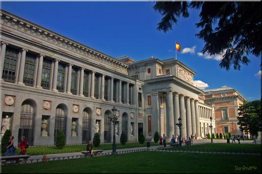 The Prado museum is stuffed with important works