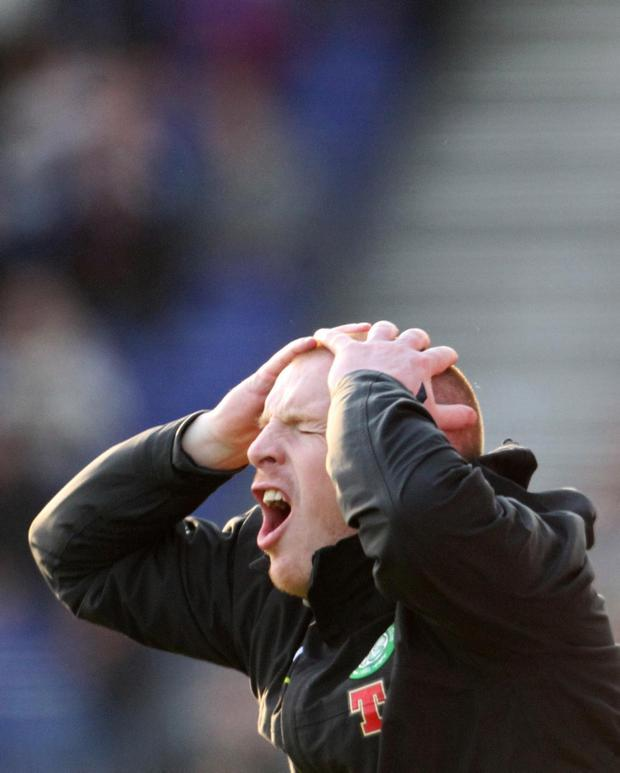 Neil Lennon is still smarting over Celtic's defeat to Inverness Caledonian Thistle