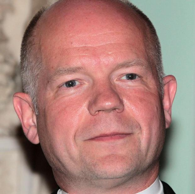 Foreign Secretary William Hague welcomed an EU move to impose sanctions on Syrian government officials