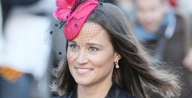 Pippa Middleton who acted as a witness to the royal wedding.