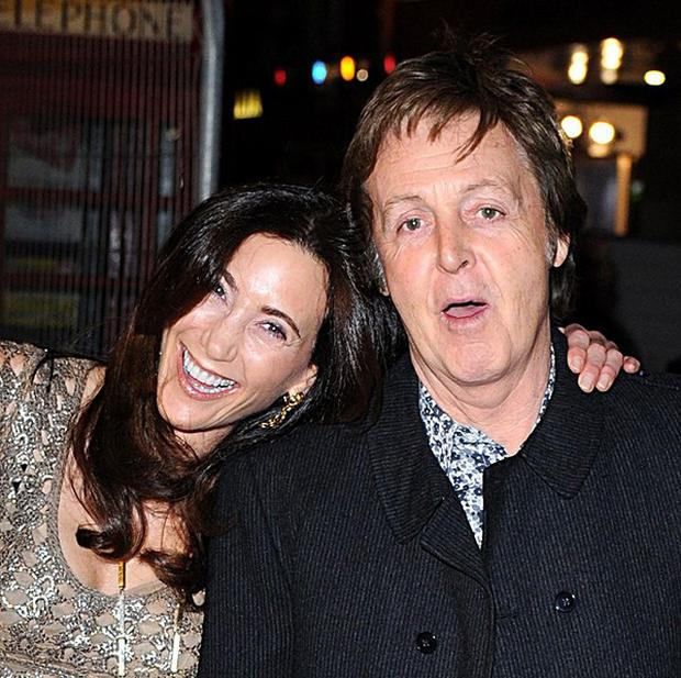 Sir Paul McCartney is engaged to US socialite Nancy Shevell